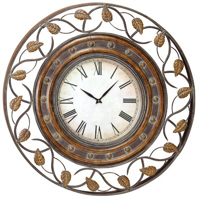 "Aspire 36"" Decorative Iron Wall Clock"