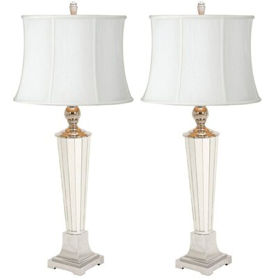 Aspire Kendal Mirror Slender Base Table Lamp (Set of 2) (Set of 2)