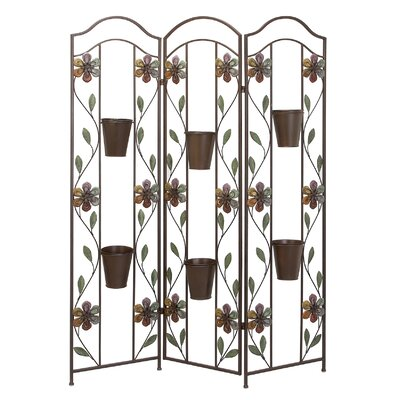 Aspire Garden Room Divider with Flower Pots