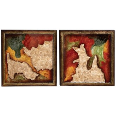 Abstract Wall Panel (Set of 2)