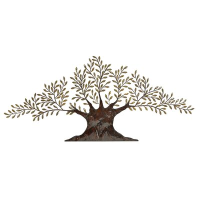 Large Metal Olive Tree Wall Decor