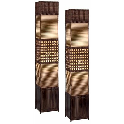 Floor Lamps Rattan | Decoration Share