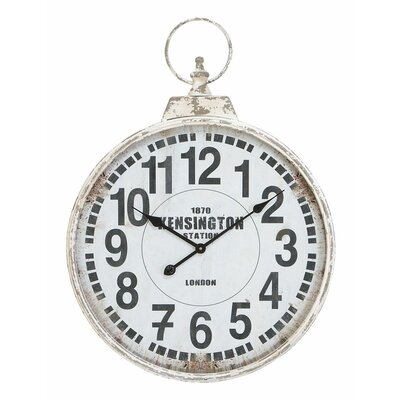 "Aspire 22"" Pocket Watch Wall Clock"