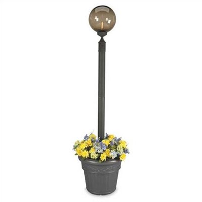 "Patio Living Concepts Europeant 1 Light 85"" Outdoor Post Lantern Set with Planter"