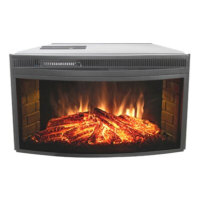 Muskoka Curved Electric Firebox