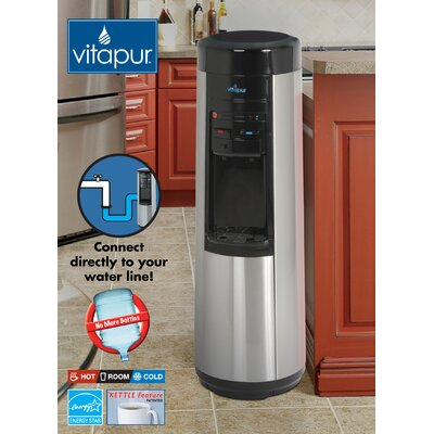 Greenway Vitapur Point-of-Use Dispenser in Stainless Steel/Black