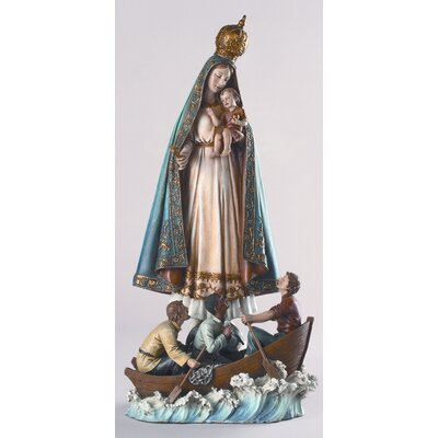 "Roman, Inc. 13"" Caridad Del Cobre Virgin of Charity Figurine"