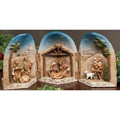 Roman, Inc. Nativity Triptych Figure