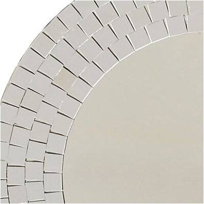 Ashton Sutton Crystals Glass Mosaic Wall Mirror