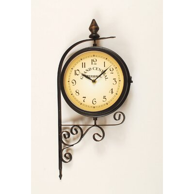 "Ashton Sutton 10"" Bracket Wall Clock"