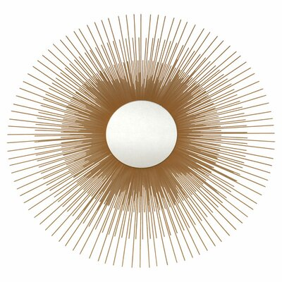 Ashton Sutton Gold Sunburst Mirror