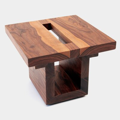 SQ18 Walnut End Table