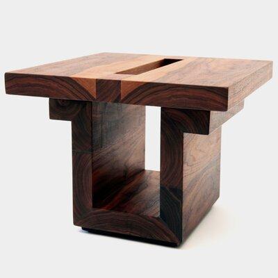 ARTLESS SQ18 Walnut End Table