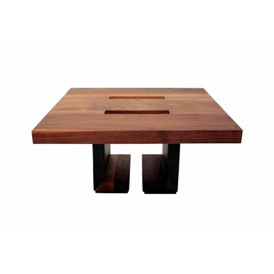 ARTLESS SQ28 Walnut End Table