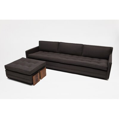 Up Solutions Three Seater Sofa with Ottoman