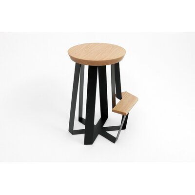 ARTLESS Counter Stool with Solid Top