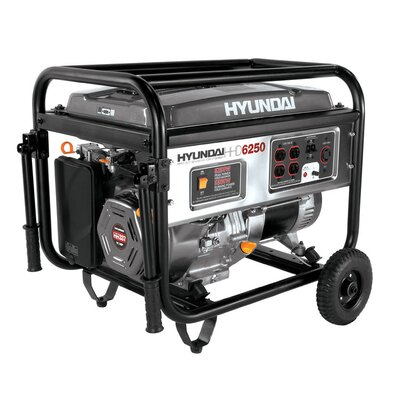 6,250 Watt Portable Heavy Duty Power Generator - HHD6250