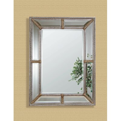 Roma Wall Mirror - Antique Silver Leaf