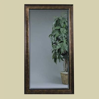 Bassett Mirror Beckett Leaner Mirror - Antique Bronze