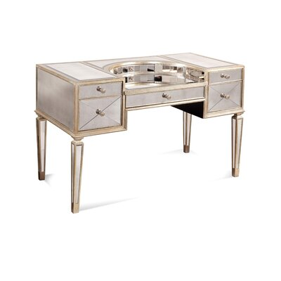 Bassett Mirror Borghese Mirrored Desk