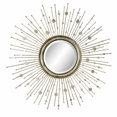 Marcello Wall Mirror - Silver