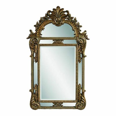 <strong>Bassett Mirror</strong> Valencia Wall Mirror - Antique Gold