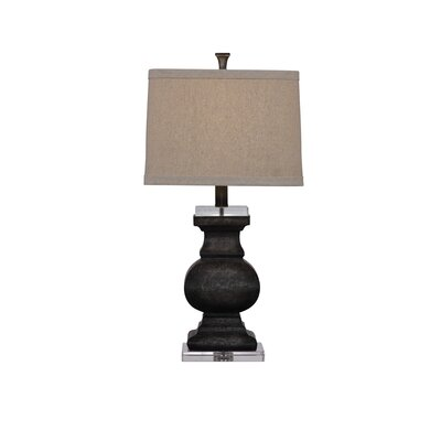 "Bassett Mirror Carmel 29"" H Table Lamp with Drum Shade"