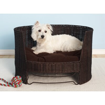 The Refined Canine Wicker Dog Day Bed