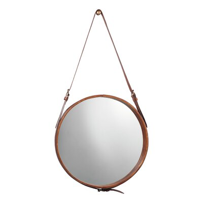 Jamie Young Company Leather Mirror
