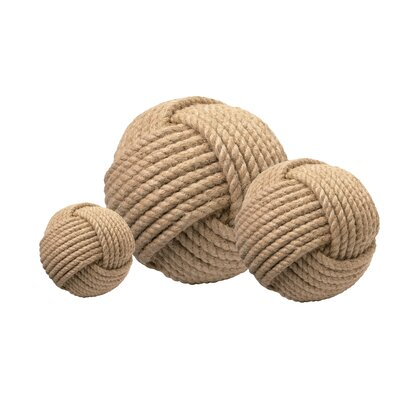 Jamie Young Company Jute Balls (Set of 3)