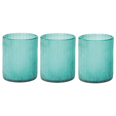 Jamie Young Company Seaglass Hurricanes (Set of 3)