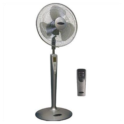 "Soleus Air 16"" Stand Fan / Oscillation and Remote Control"