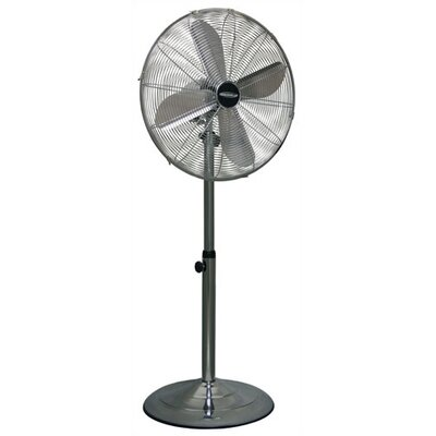 Stand Fan with Oscillation Control