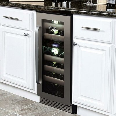 Elite 17 Bottle Dual Zone Built-in Wine Refrigerator