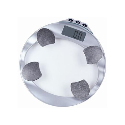 Digital Glass Body Fat and Water Scale with 10 Memory Settings