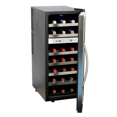 Whynter 21 Bottle Dual Zone Thermoelectric Wine