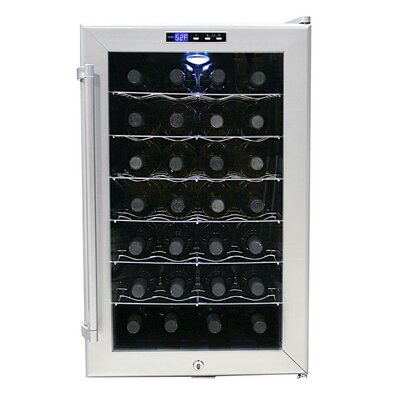 SNO 28 Bottle Single Zone Thermoelectric Wine Refrigerator