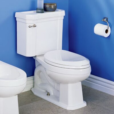 St Thomas Creations Richmond Chair-Height Front 1.28 GPF Round 2 Piece Toilet