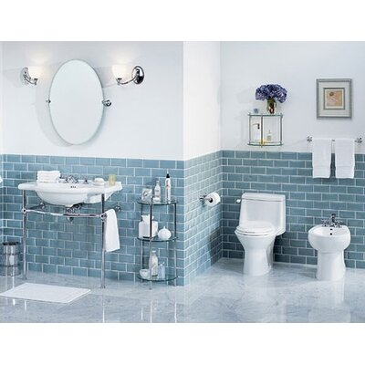 St Thomas Creations Nouveau Console Bathroom Sink