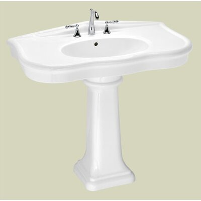 Parisian Medium Pedestal Bathroom Sink - 5045.080.01