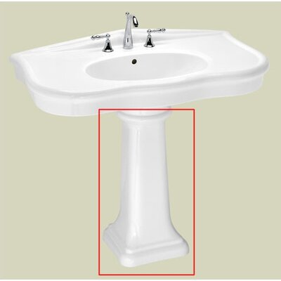 St Thomas Creations Parisian Grande Pedestal Sink