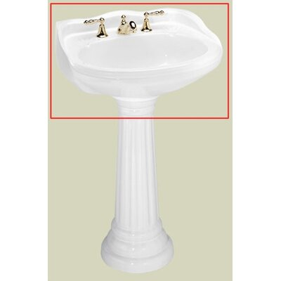 St Thomas Creations Arlington Petite Pedestal Bathroom Sink