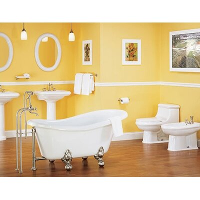 St Thomas Creations Celebration Petite Pedestal Bathroom Sink