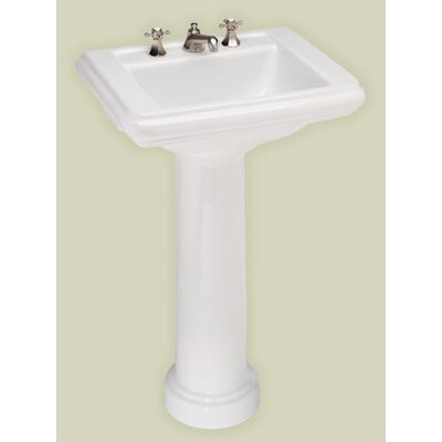 Celebration Petite Pedestal Bathroom Sink - 5131.080.01