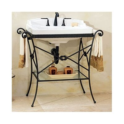 Granada Console Table with Neo - Venetian Petite Bathroom Sink - 5123.480.01
