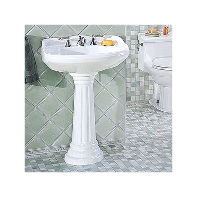 Arlington Petite Pedestal Bathroom Sink - 5127.042