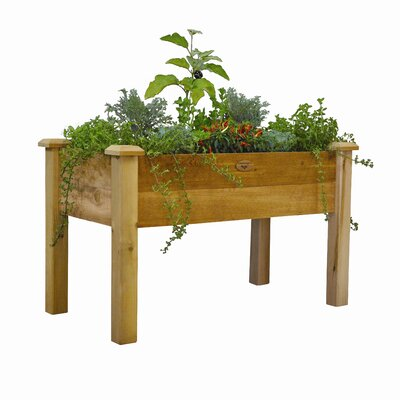 Rustic Elevated Garden Bed
