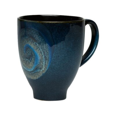 Organic Blue 16 oz. Mug (Set of 4)