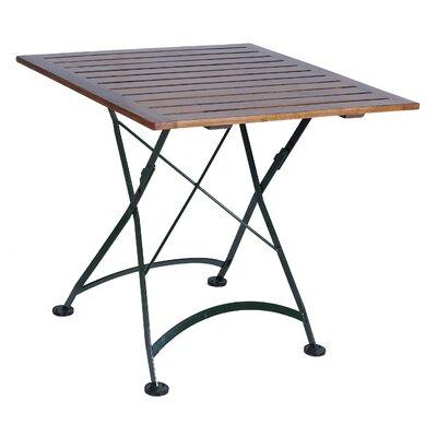 """Furniture Designhouse European Café 32"""" x 32"""" Folding Table"""