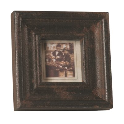 Rustic Textured Tabletop Easel Picture Frame